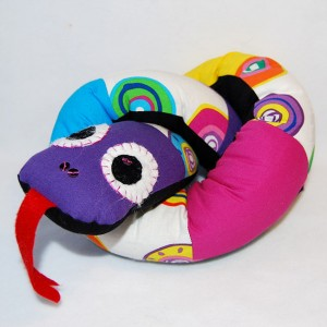 Ormen Klara - När du lärt dig symaskinen.
