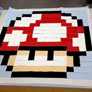 Planera en Pixelkudde