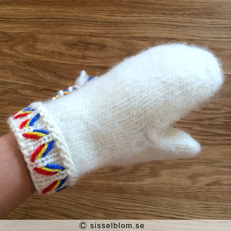 Köp handstickade Lovikkavantar