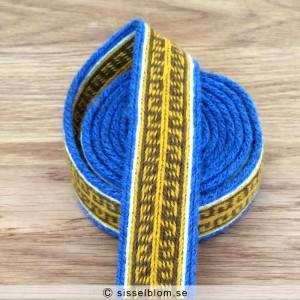 brickvävda band, brickband, tablet weaving