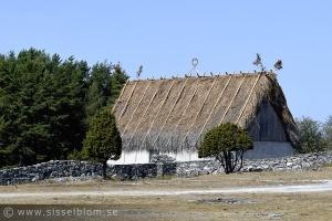 Gammalt hus på Fårö