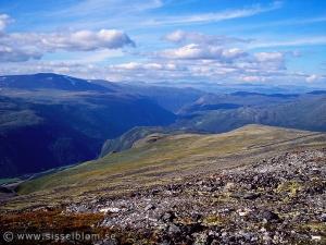 Jotunheimen - på väg upp till Juvasshytta