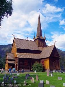 Lom stavkirke från 1150-talet