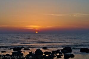 Solnedgång i Nyhamn