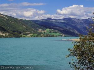 Turkosfärgat vatten - Vågåvatnet