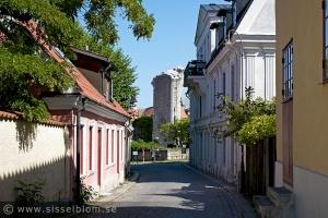 Smågata i Visby