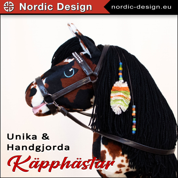 Unika och handgjorda käpphästar